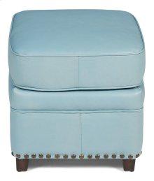 Papa's Footstool, Wedgewood Blue