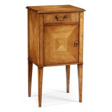 Pair of Satinwood Bedside Cabinets