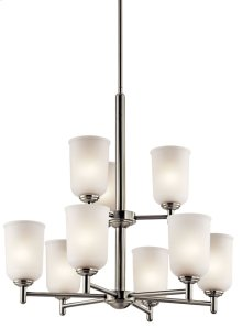 Shailene 9 Light Chandelier Brushed Nickel