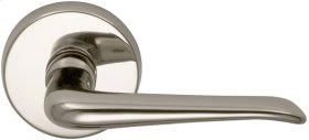 Interior Modern Lever Latchset in (US14 Polished Nickel Plated, Lacquered)