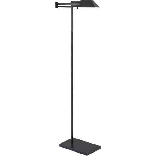 Visual Comfort 81134BZ Studio Classic 43 inch 40 watt Bronze Swing-Arm Floor Lamp Portable Light