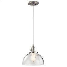 Avery Collection 1 Light Avery Mini Pendant NI