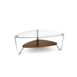 Bdi FurnitureSmall Coffee Table 1344 in Chocolate Stained Walnut