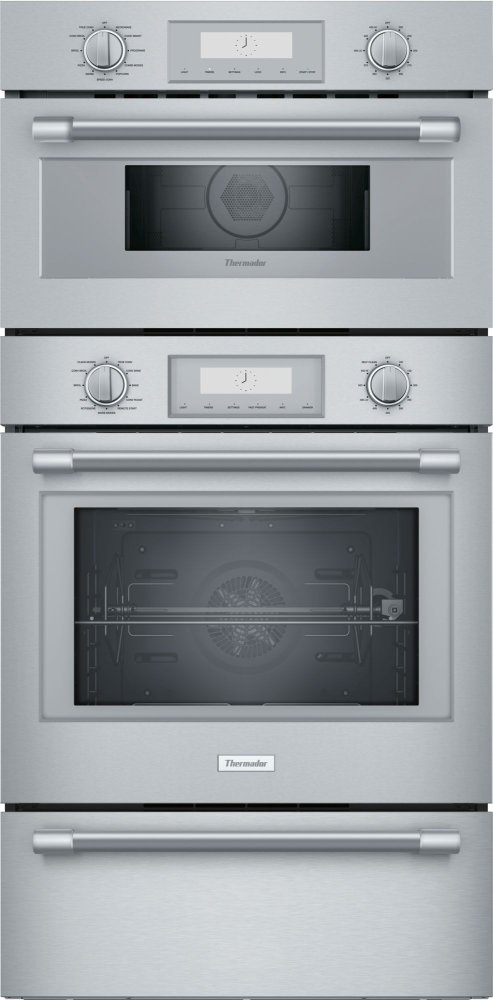 Podmcw31w Thermador 30 Inch Professional Triple Speed Oven