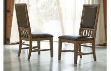 Metalworks Upholstered Back Side Chair