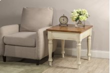 Wilshire End Table Antique White