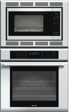 30 inch Masterpiece® Series Combination Oven (oven and convection microwave) with professional handle MEDMC301JP Product Image
