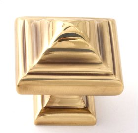 Geometric Knob A1520 - Polished Antique