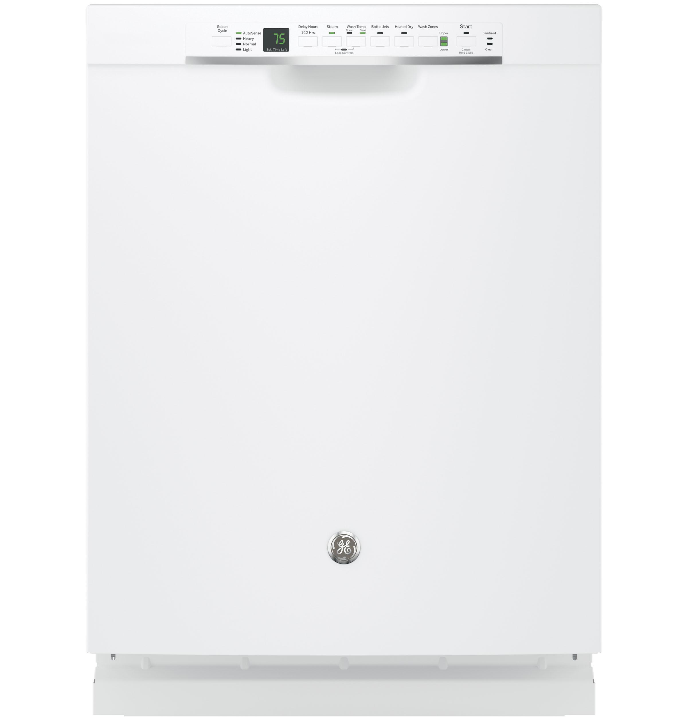 Ge Reg Stainless Steel Interior Dishwasher With Front Controls