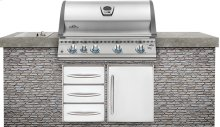 Built-In LEX 605 RBI Stainless Steel with Infrared Bottom and Rear Burners