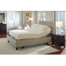 Premier Casual Beige Queen Adjustable Bed
