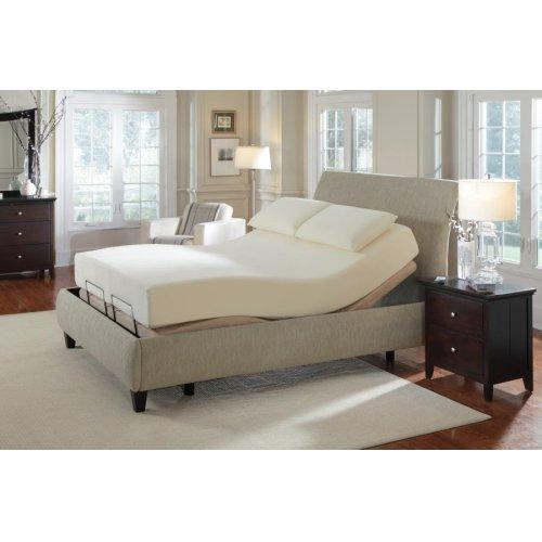Premier Casual Beige Queen Adjustable Bed
