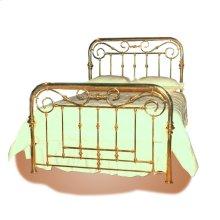 Palace Gate Brass Bed - #123