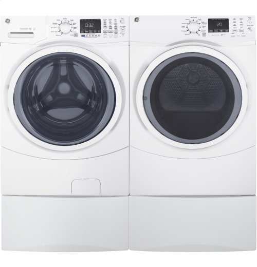 RED HOT BUY! GE® 7.5 cu. ft. capacity Front Load electric dryer with steam