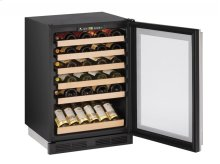 "1000 Series 24"" Wine Captain® Model With Stainless Frame Finish and Field Reversible Door Swing"
