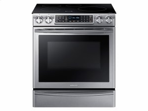 5.8 cu. ft. Slide-In Induction Range with Virtual Flame Technology in Stainless Steel Product Image