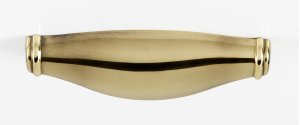 Charlie's Collection Cup Pull A626-4 - Polished Antique