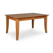 Loft Leg Table, Solid Top