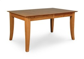 Loft Leg Table, Solid Top
