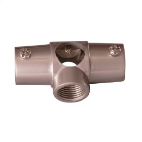 Shower Rod Wall Tee - Polished Nickel