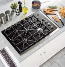 "30"" Built-In Gas-on-Glass Cooktop"