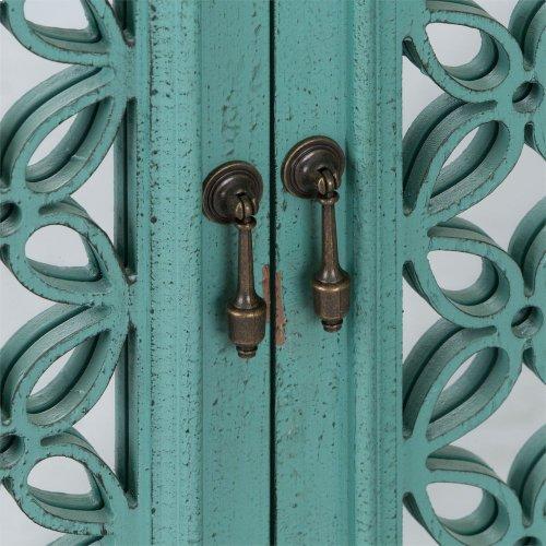 4 Door Accent Cabinet