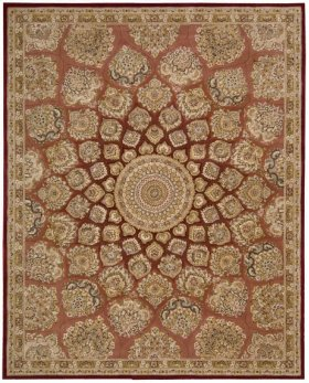 Nourison 2000 2318 Ros Rectangle Rug 3'9'' X 5'9''