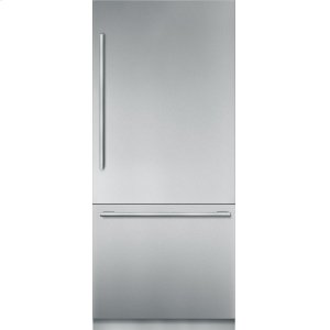 Thermador36-Inch Built-in Stainless Steel Masterpiece® Two Door Bottom Freezer