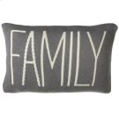 """Family"" Pillow. Product Image"