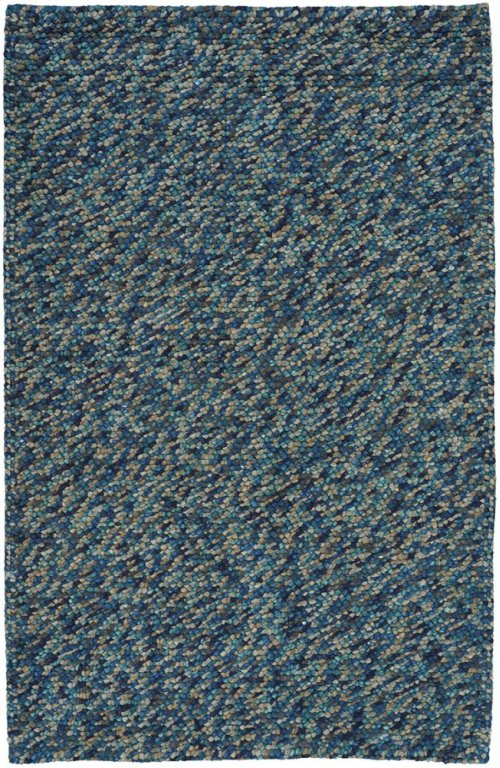Pebbles Teal Hand Knotted Rugs