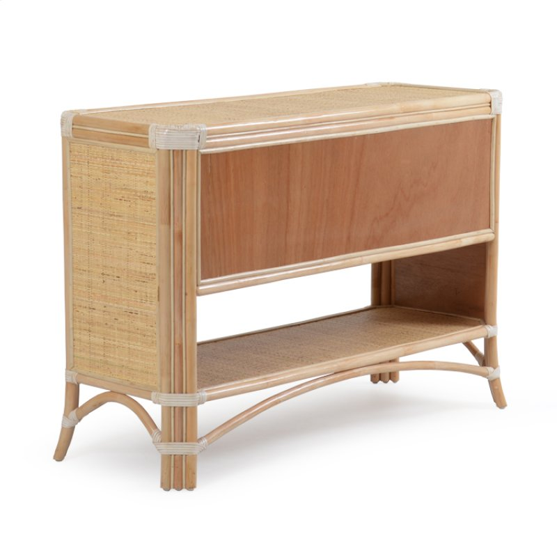 Palm5504na In By Palm Springs Rattan Chesapeake Va Console Table Natural 5504