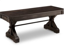 """Rafters 48"""" Bench With Wood Seat"""