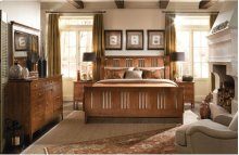 Sleigh King Bed - Complete