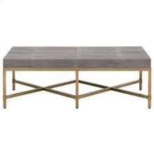 Strand Shagreen Coffee Table