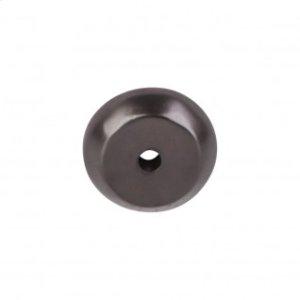 Aspen Round Backplate 7/8 Inch - Medium Bronze
