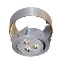 Tiro Collar 3 Light Tiro Conversion ring for Under Cabinet in Brushed Aluminum