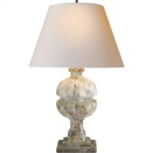 Visual Comfort AH3100GS-NP Alexa Hampton Desmond 26 inch 100 watt Antique Gilded WoodGarden Stone Decorative Table Lamp Portable Light