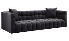 Bea Grey Velvet Sofa