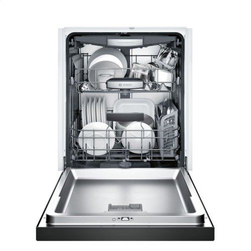 800 Series built-under dishwasher 24'' Black SHEM78W56N