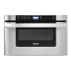 Sharp Appliances24 In. 1.2 Cu. Ft. 950w Sharp Easy Open Stainless Steel Microwave Drawer