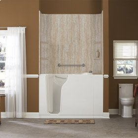 Gelcoat Premium Series Walk-In Bathtub with Air Spa System  American Standard - Linen