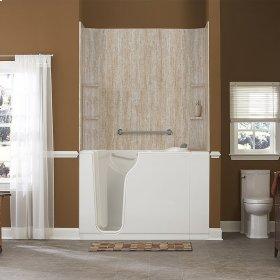 Gelcoat Premium Series Walk-In Bathtub with Air Spa System  American Standard - White