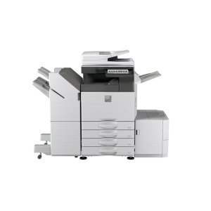 35 ppm B&W and Color networked digital MFP