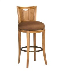 Round Bar Height Swivel Stool-KD