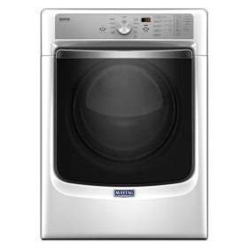 """Maytag® Large Capacity Dryer with Refresh Cycle with Steam and PowerDry System """" 7.4 cu. ft. - White"""