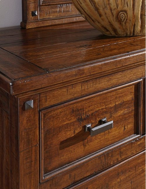 Bedroom - Wolf Creek Six Drawer Media Chest
