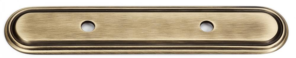 Venetian Backplate A1507-3 - Antique English Matte