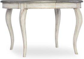 Arabella 48in Round Leg Table w/1-20in leaf