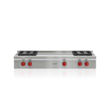 "48"" Sealed Burner Rangetop - 4 Burners and French Top"
