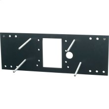 Accessory - In Wall Carrier (Single) for EDFP210, EDFP214, EDFPB114, EDFPBW114, EHW214 models